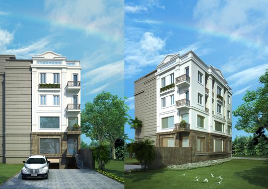 Thiết kế cải tạo kiến trúc văn phòng tại Từ Liêm, Hà Nội