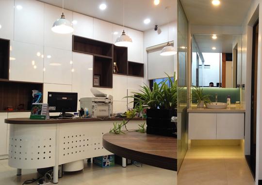 Thi công nội thất văn phòng tại VinHomes, Hải Phòng