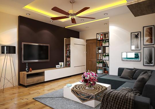 Thiết kế nội thất chung cư hiện đại tại Tabudec Plaza