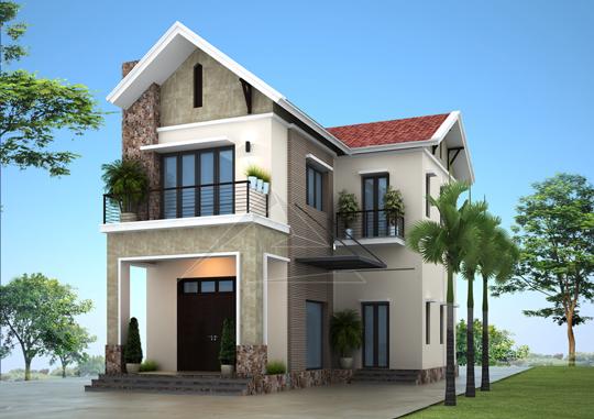 Thiết kế biệt thự tại Đông Anh, Hà Nội