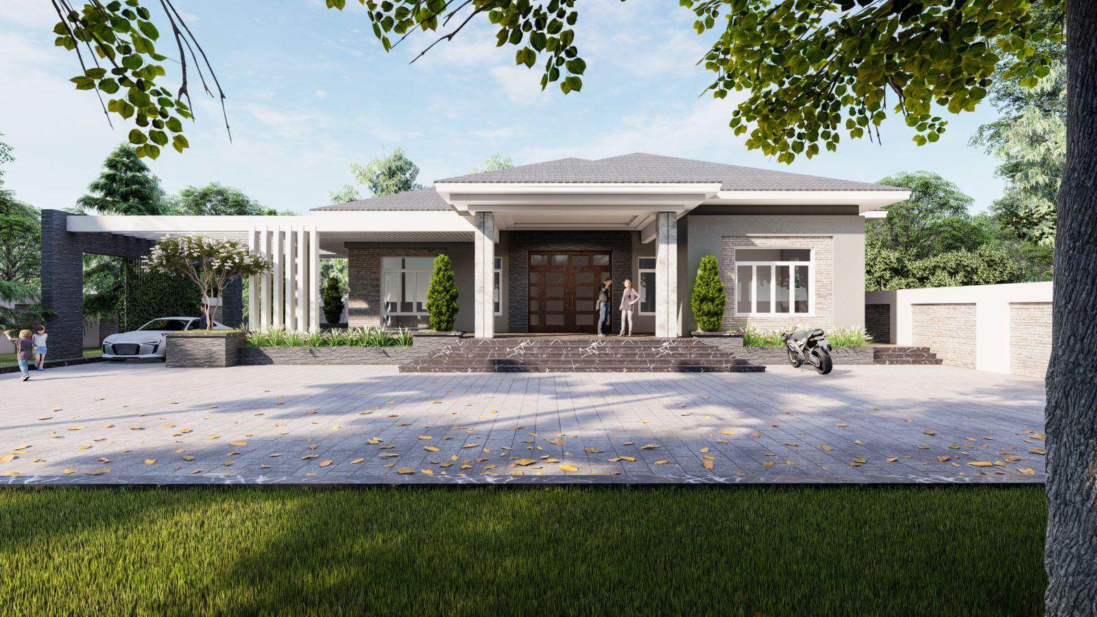 Thiết kế nhà vườn tại Thanh Hóa