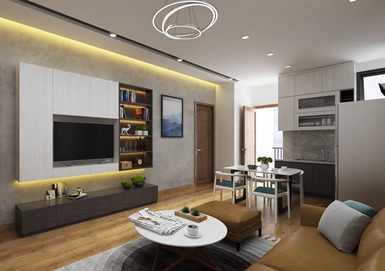 Thiết kế nội thất căn hộ chung cư Startup Tower, Đại Mỗ, Hà Đông