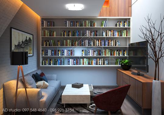 Thiết kế nội thất nhà phố Ecopark, Hưng Yên