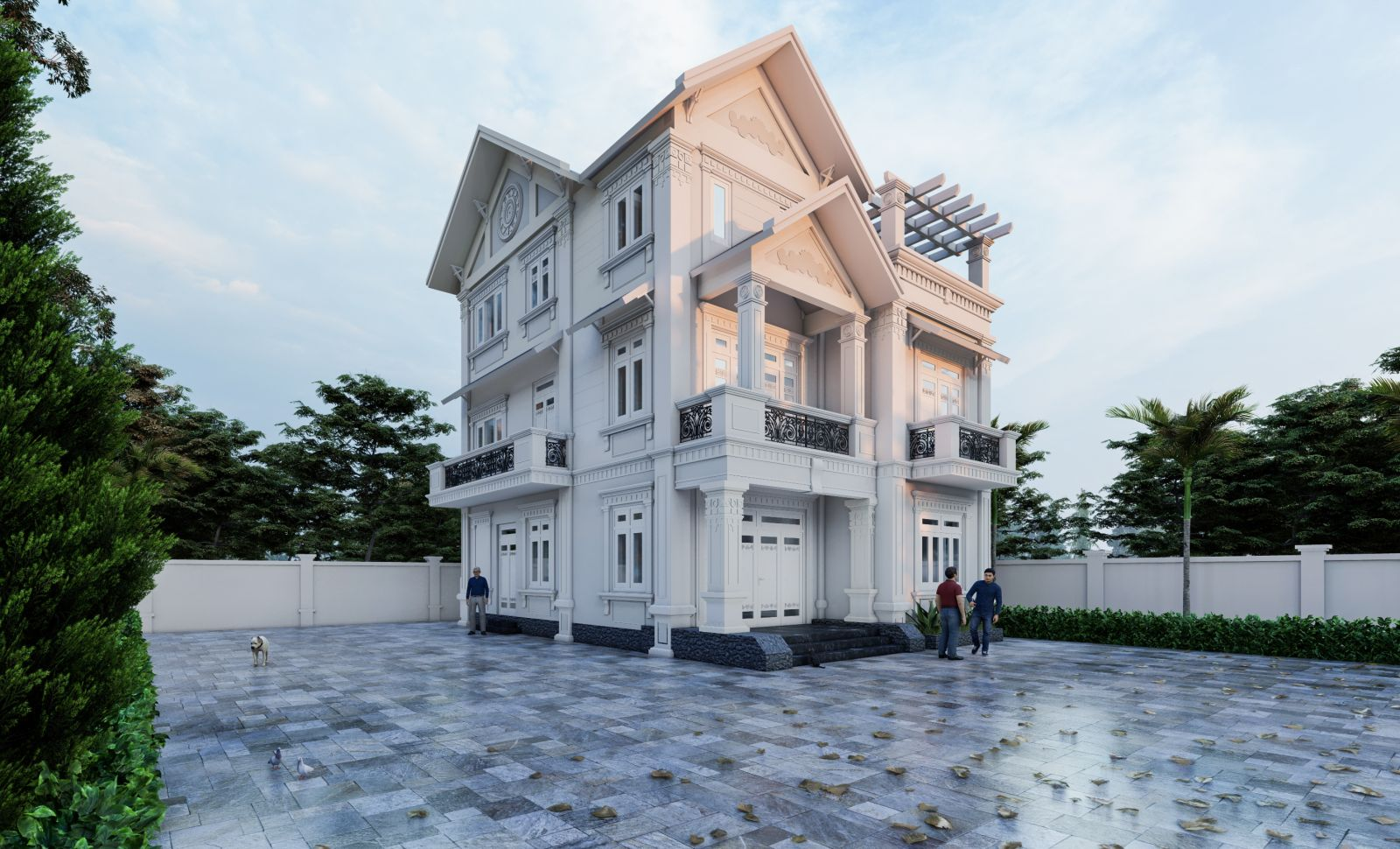 Thiết kế biệt thự tại Kim Sơn, Ninh Bình